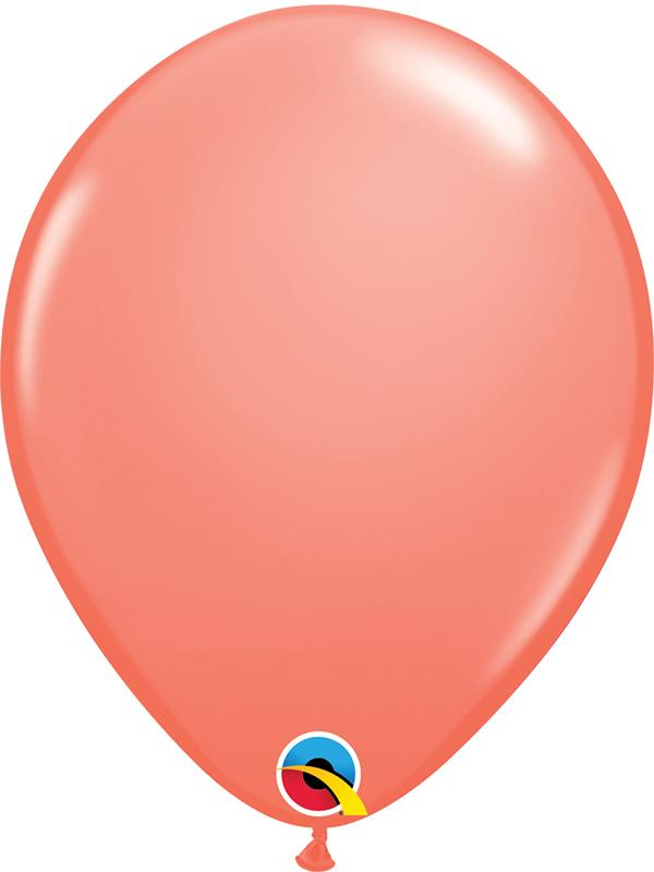 Standard Latex Balloons Coral