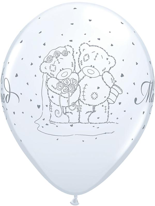 Latex Balloons Tatty Teddy Just Married
