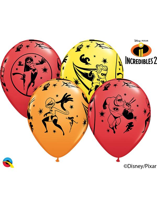 Latex Balloons Disney The Incredibles