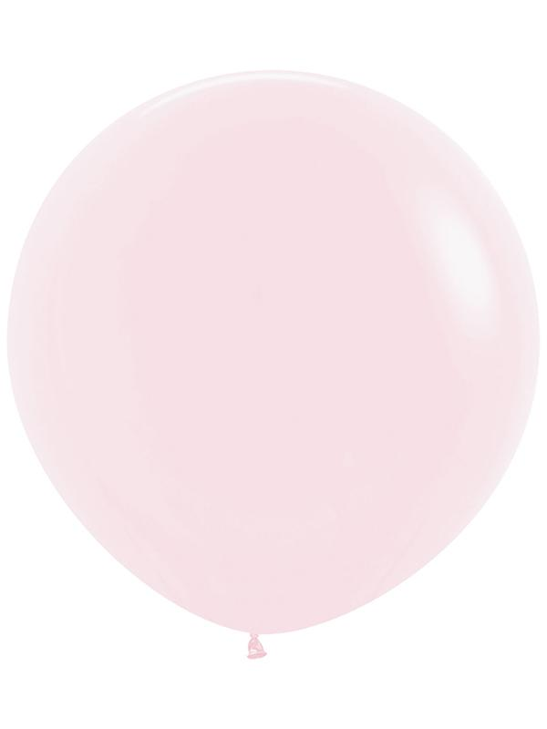 Large Latex Balloon Pastel Matte Solid Pink