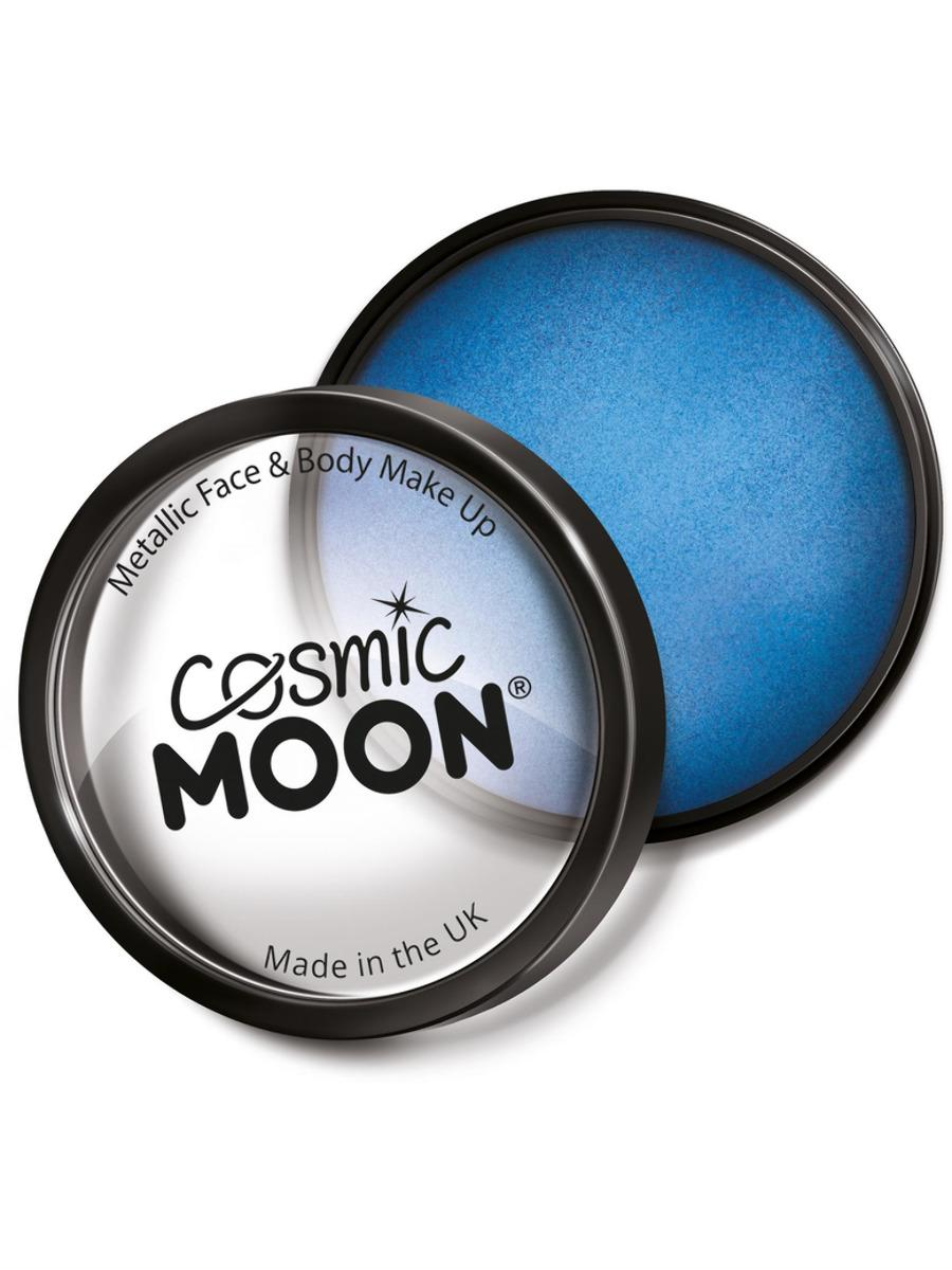 Moon Creations Metallic Pro Face Paint Blue