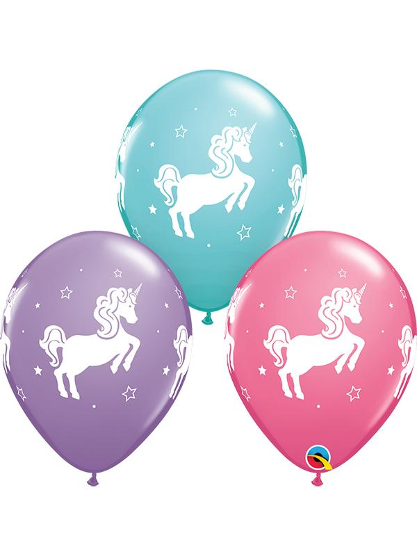 Latex Balloons Whimsical Unicorn