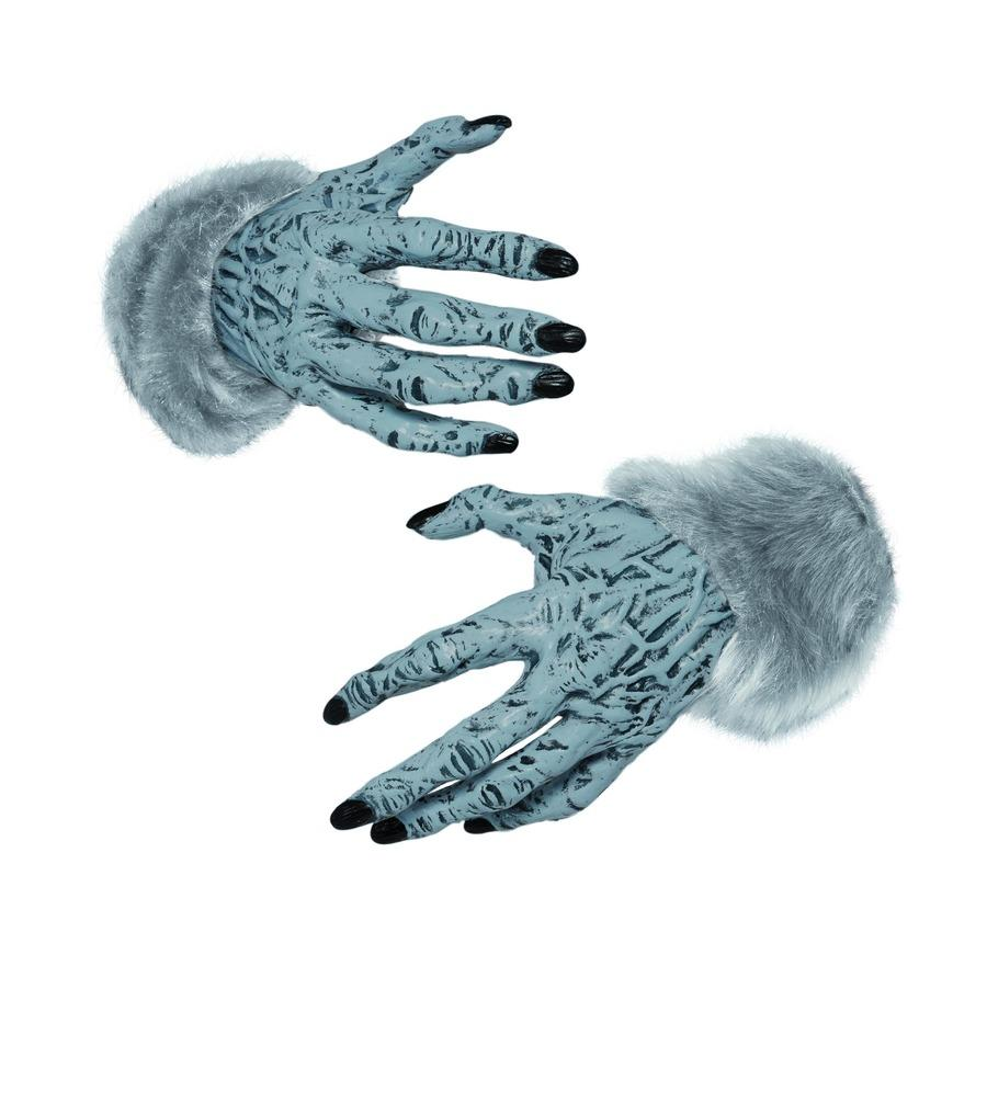 Werewolf Furry Hands Grey