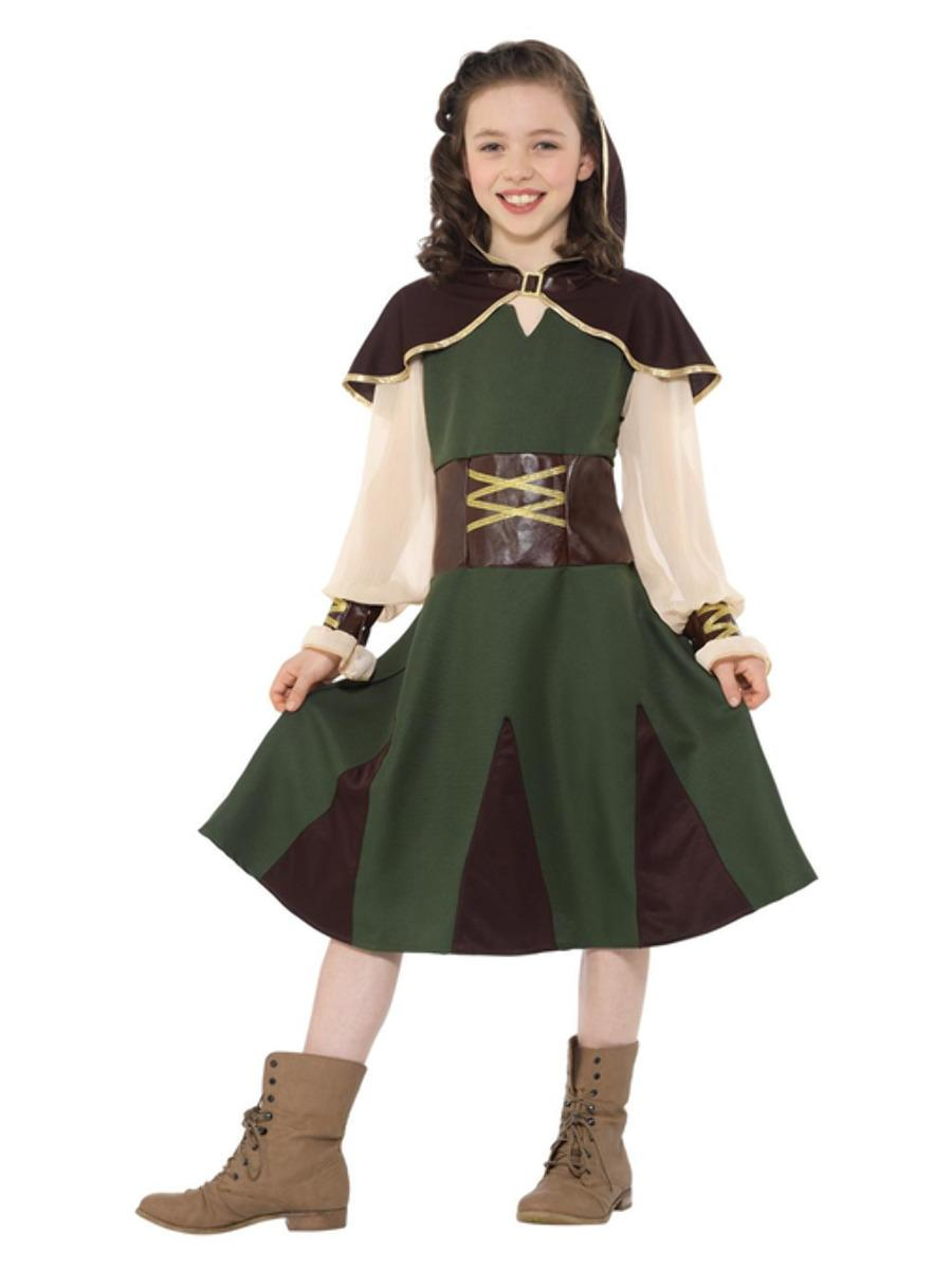 Kids Robin Hood Girl Costume