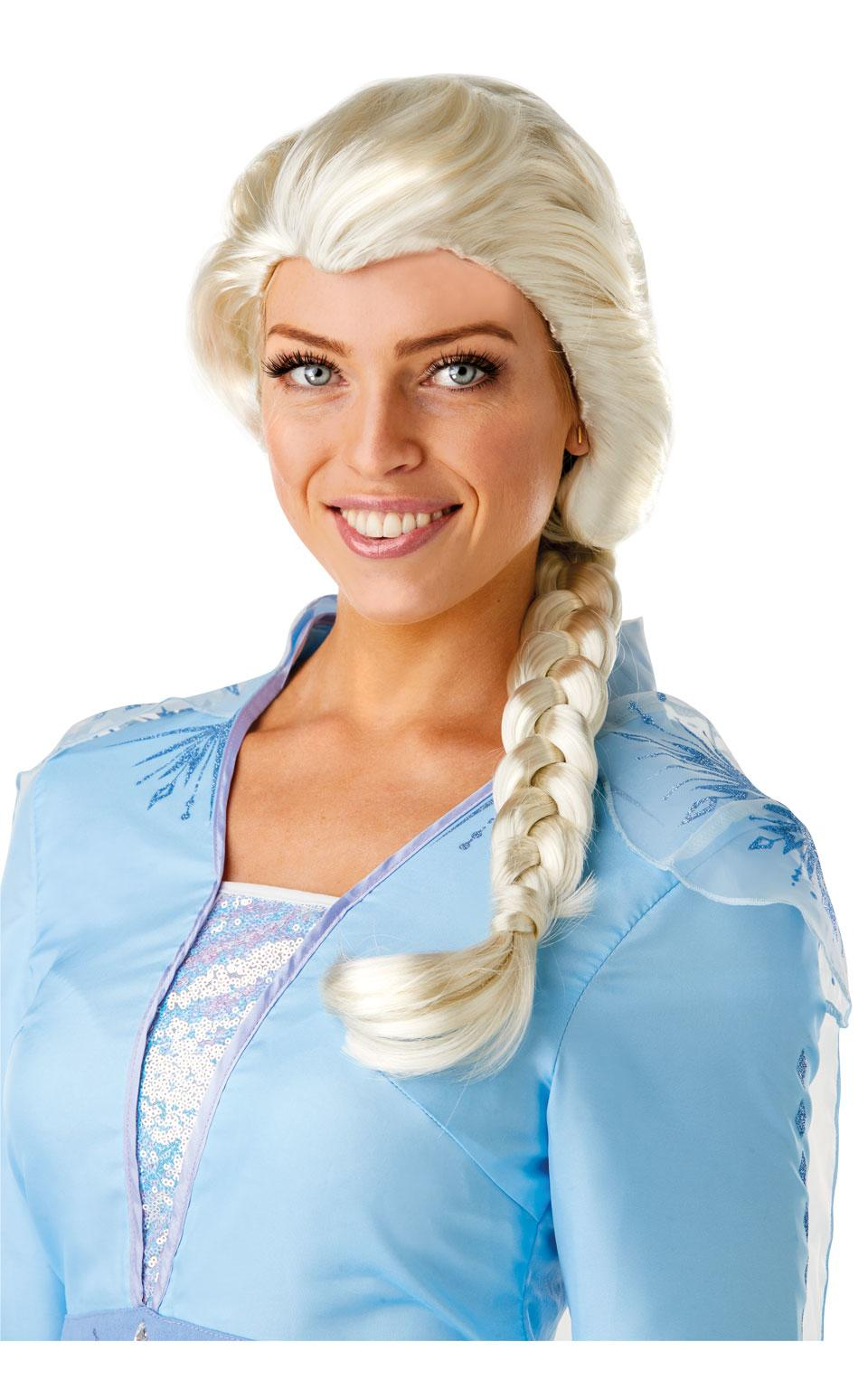 Frozen 2 Adult Elsa Wig White Blonde