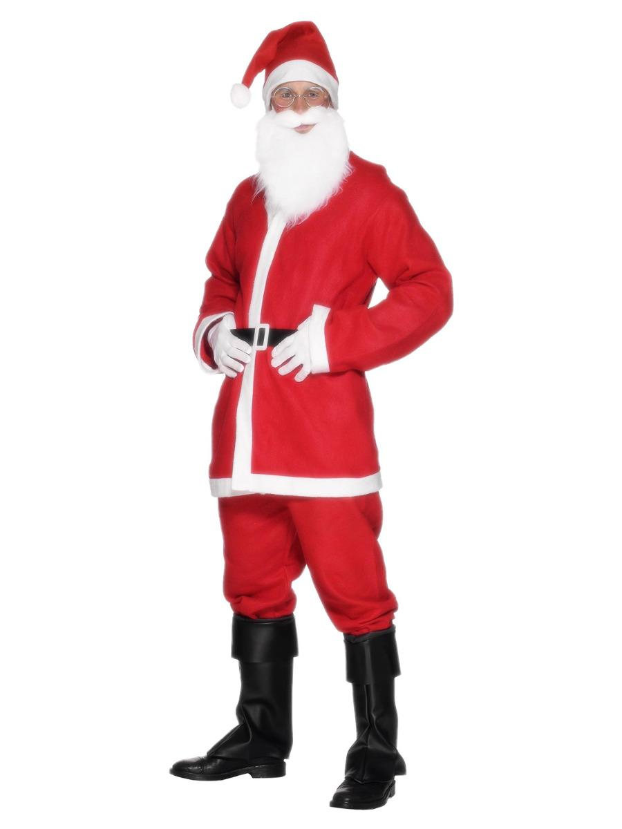 Santa Suit Costume Red