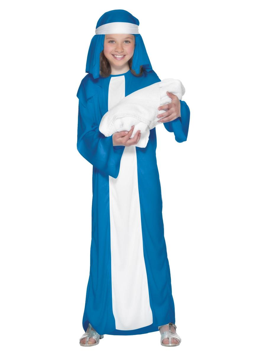 Mary Child Costume, Blue