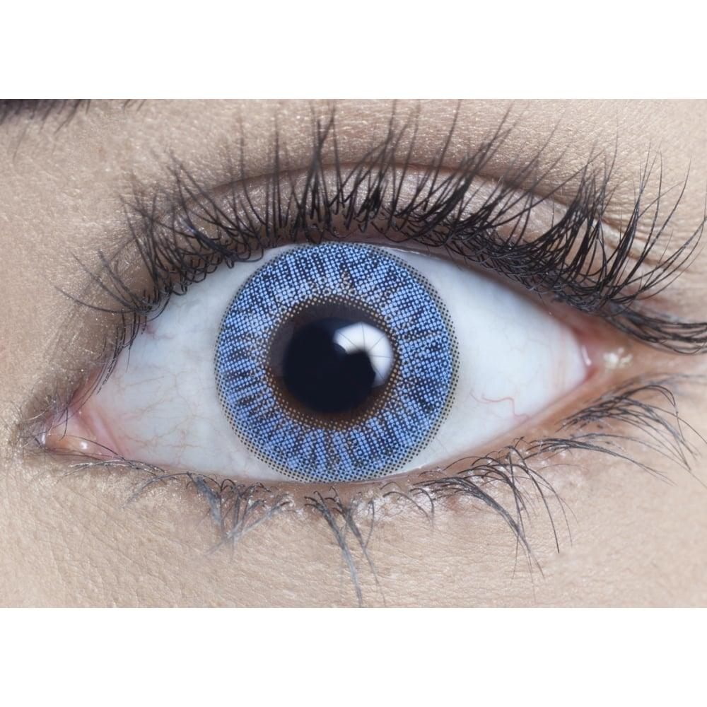 MesmerEyez Blendz Topaz Blue Contact Lenses