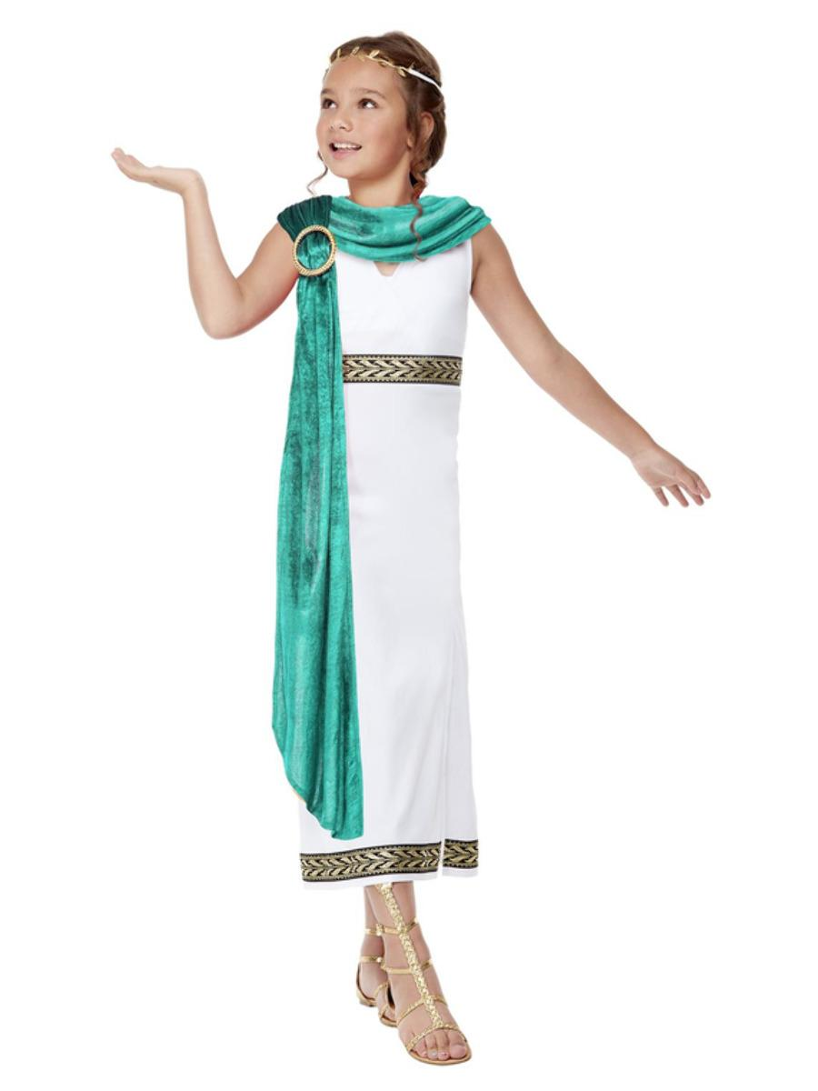 Kids Deluxe Roman Empire Queen Costume