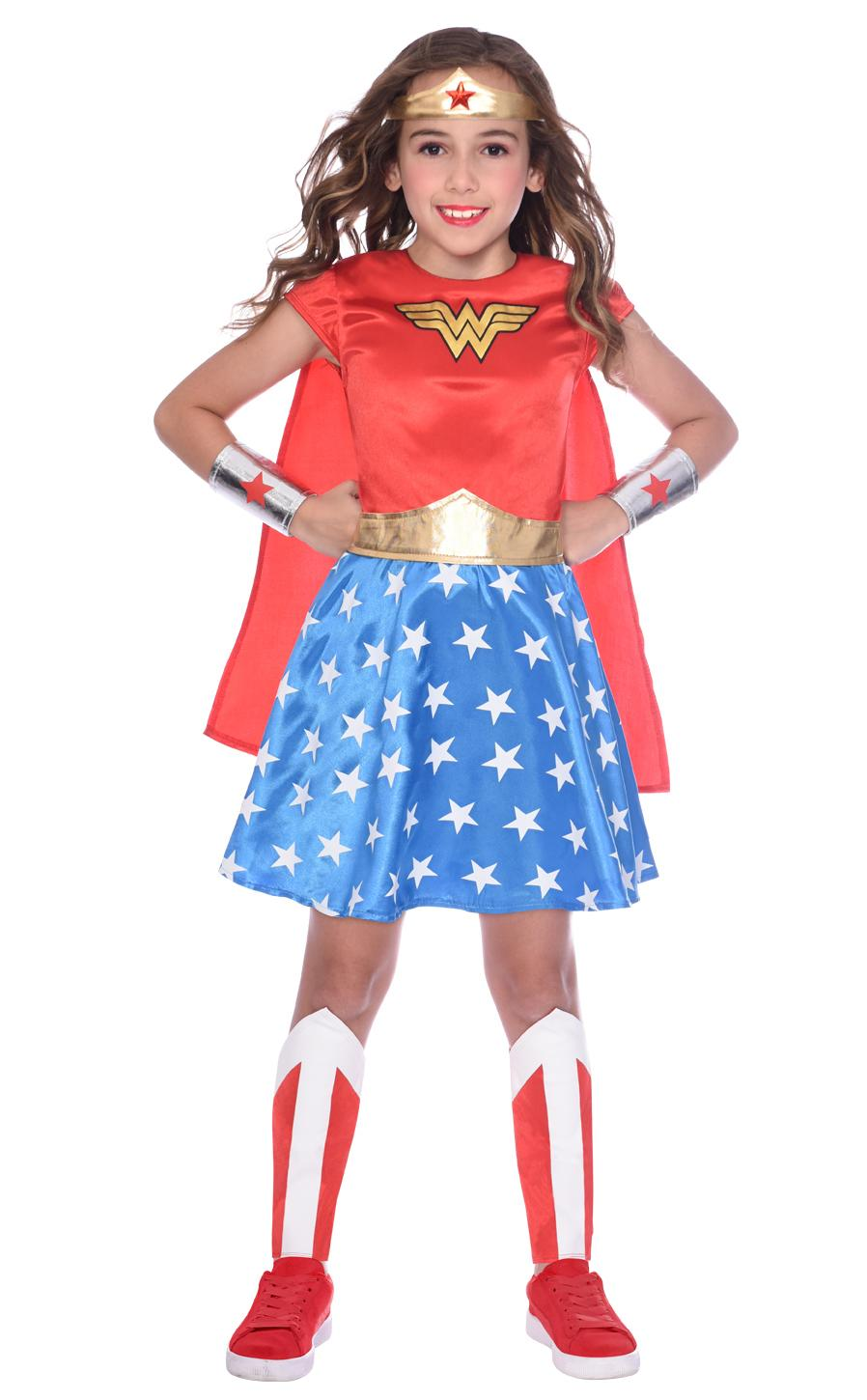 Kids Classic Wonder Woman Costume