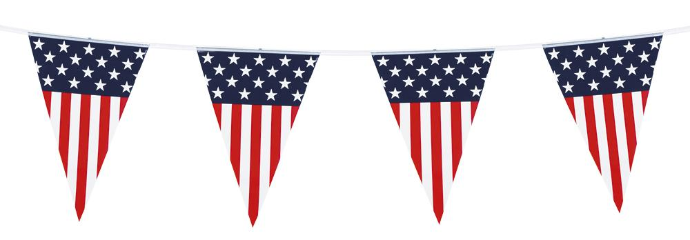Pennant Bunting USA Stars & Stripes