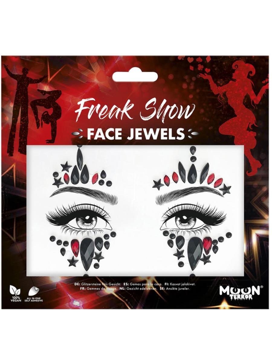 Glitter Face Jewels Freak Show