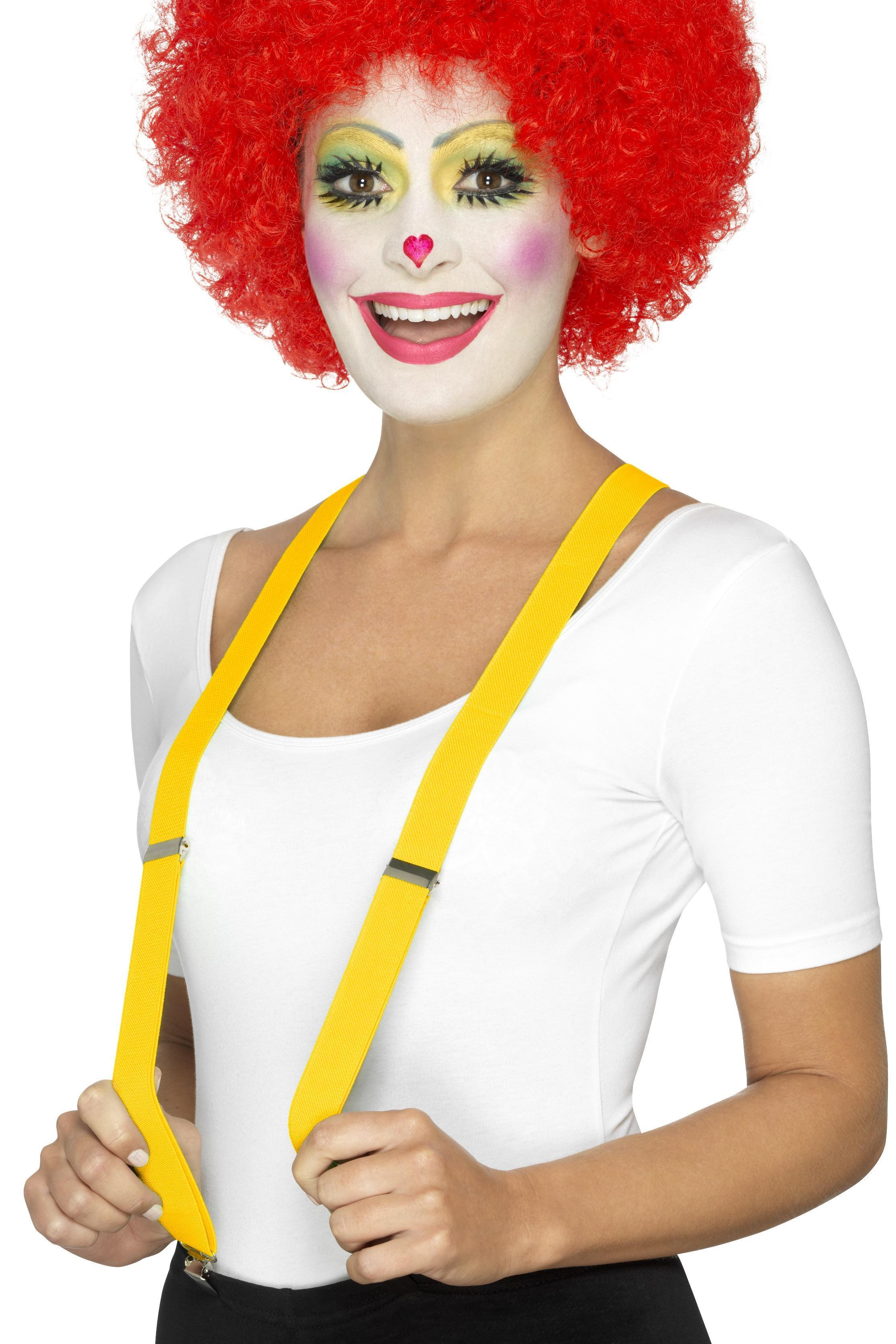 Clown Braces Yellow
