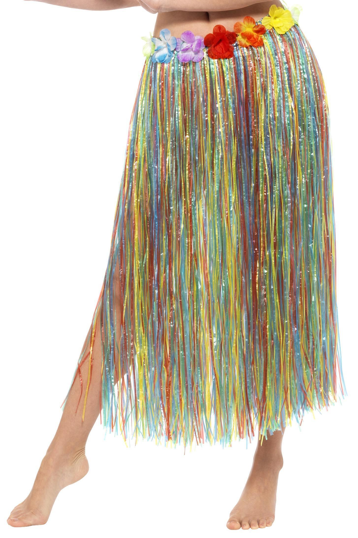 Hawaiian Hula Skirt Multi-colour