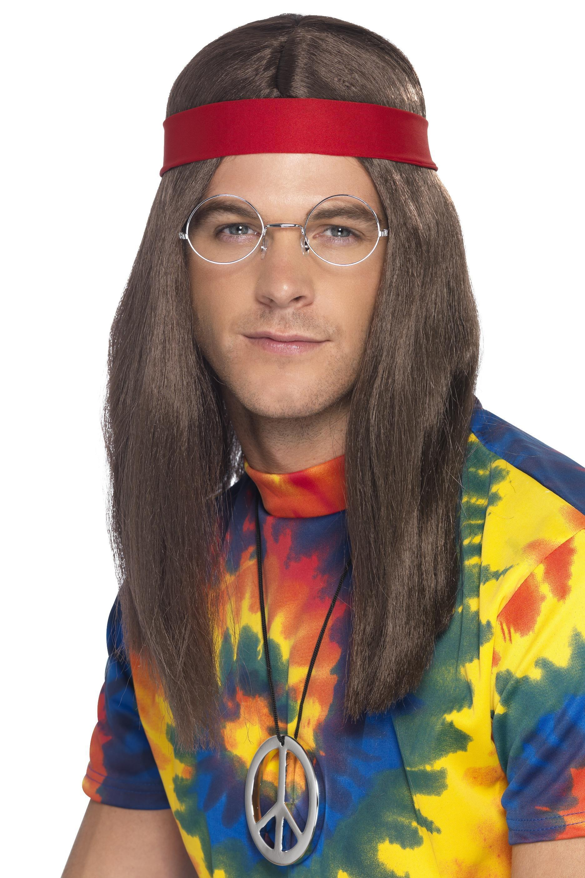 60s Hippy Man Wig Kit