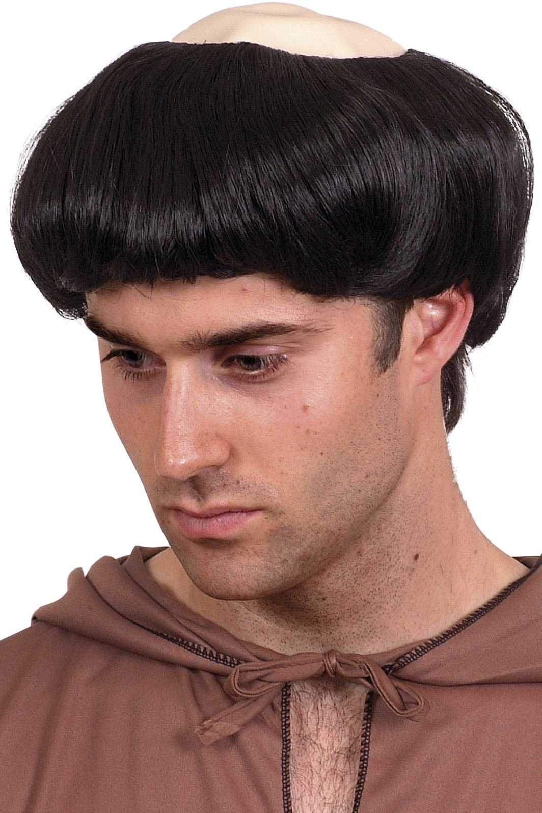 Monks Wig Black