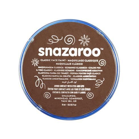 Snazaroo 18ml Face Paint Light Brown