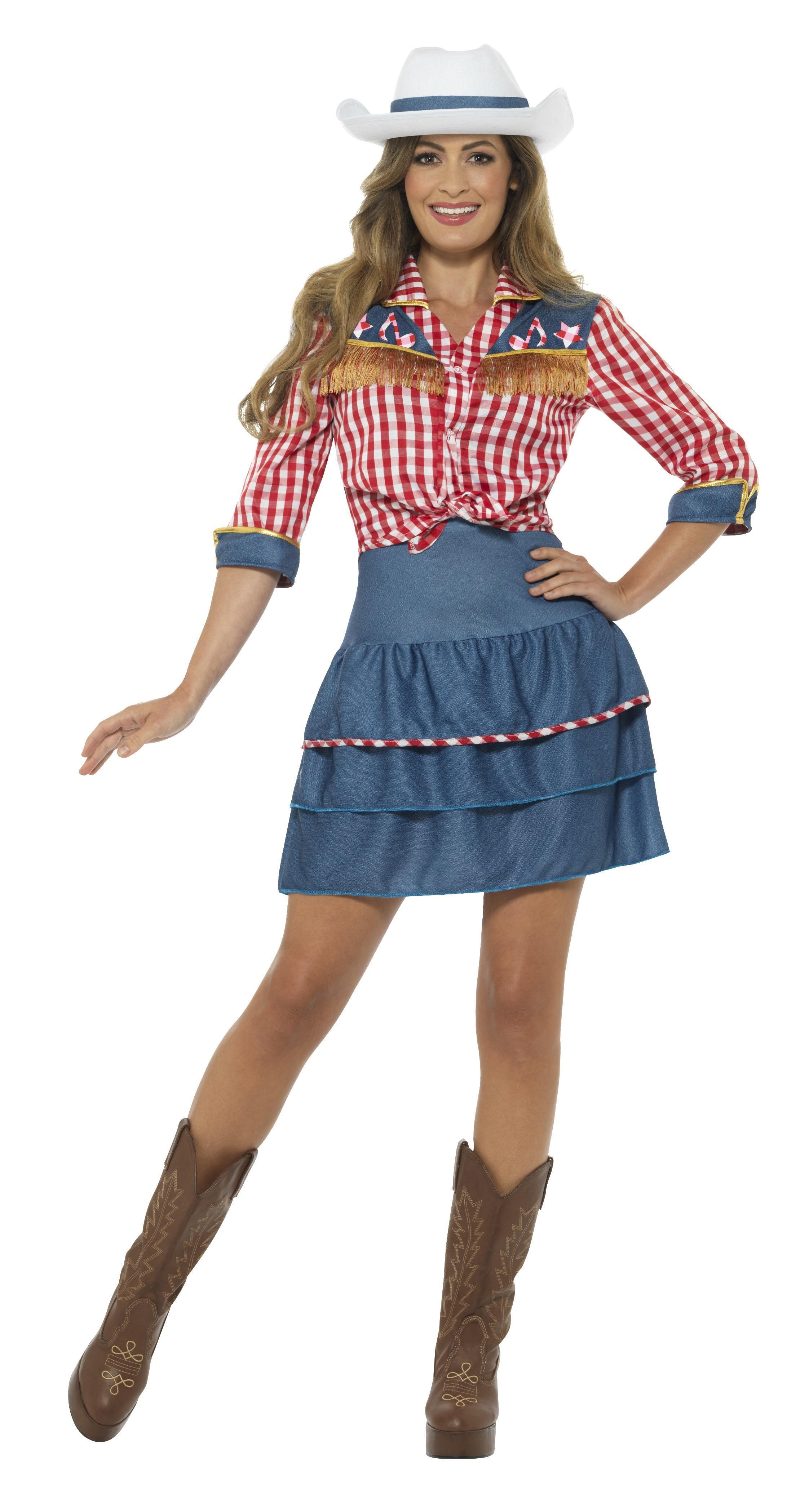 Rodeo Doll Cowgirl Costume