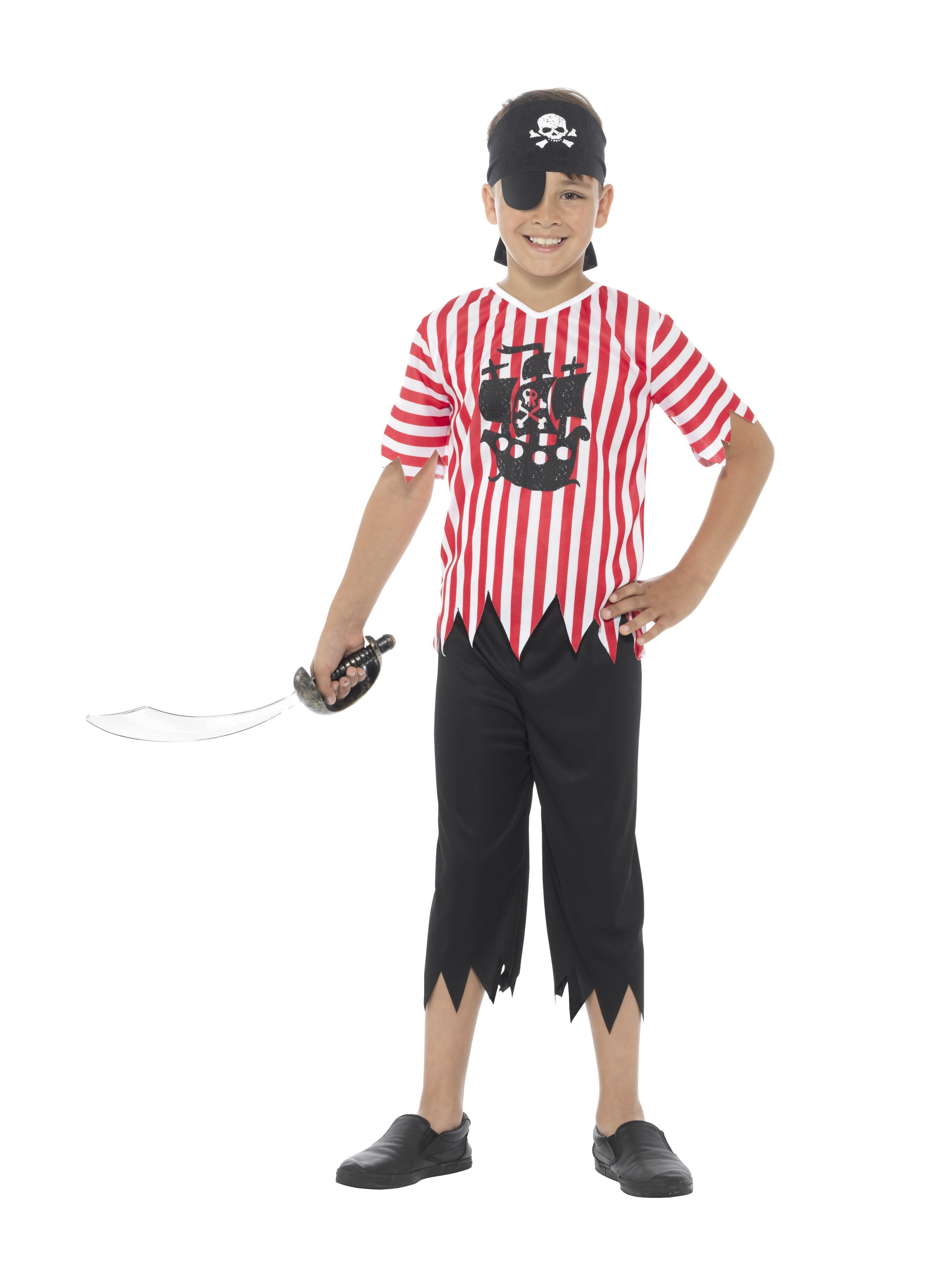 Kids Jolly Pirate Boy Costume