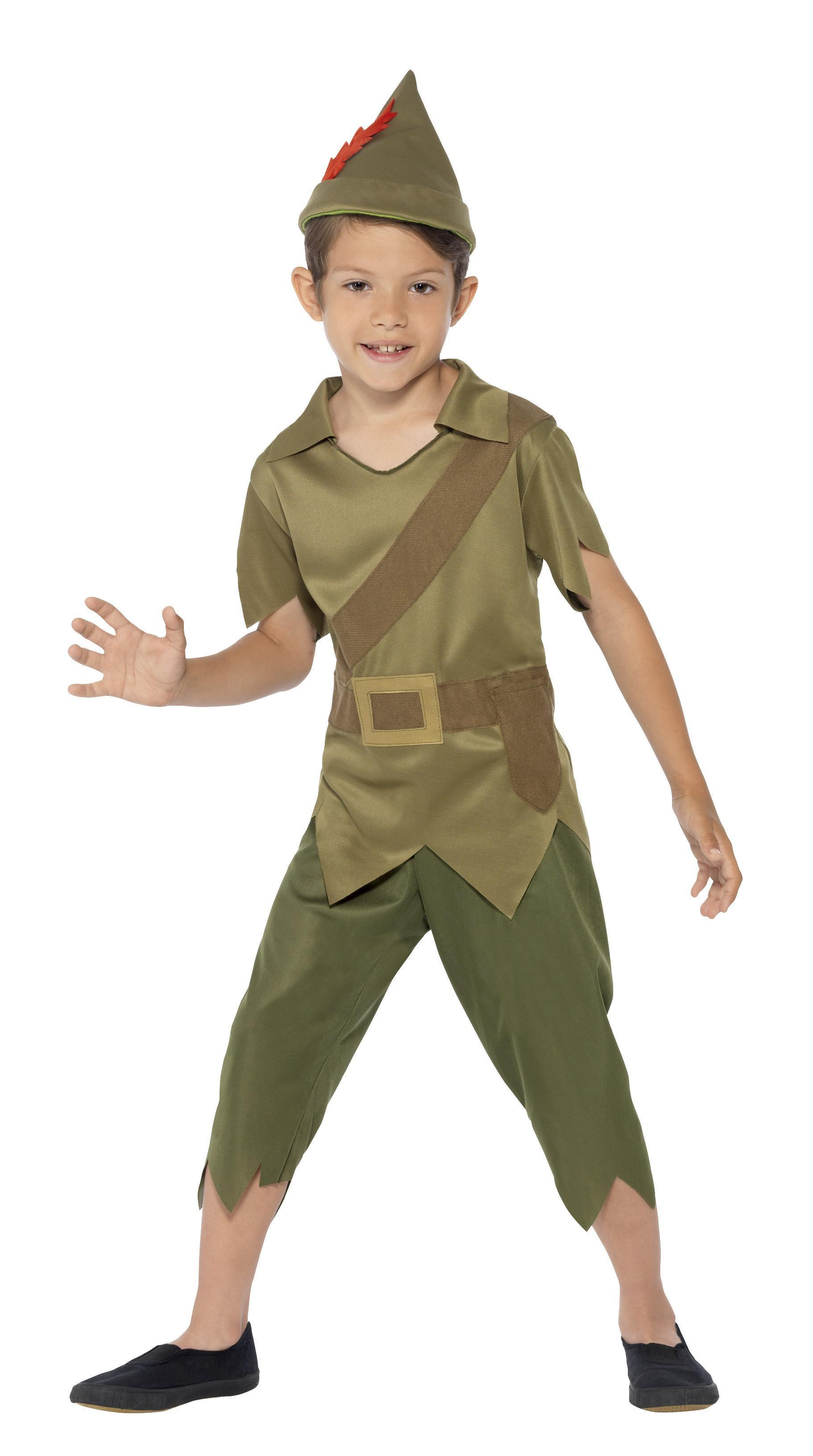 Kids Robin Hood Costume Green