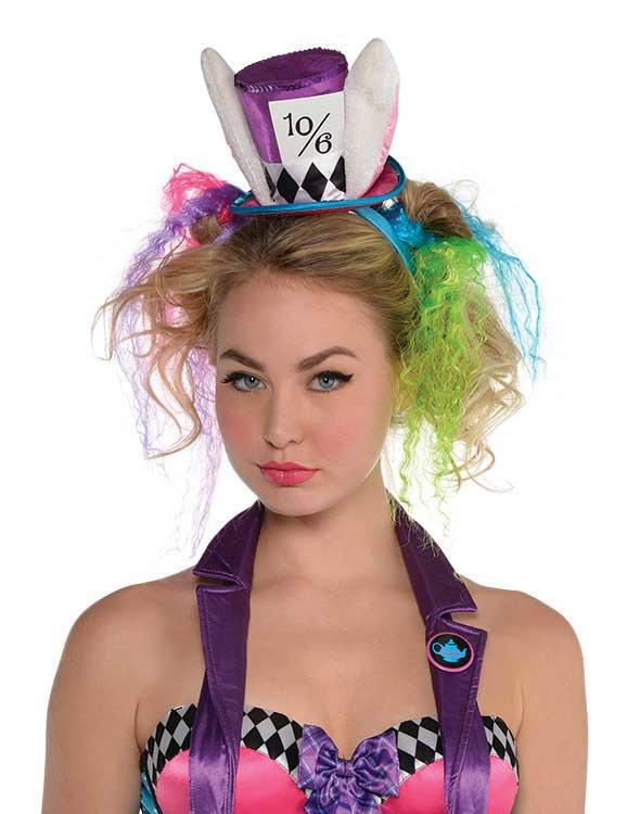 Mad Hatter Headband with Ears