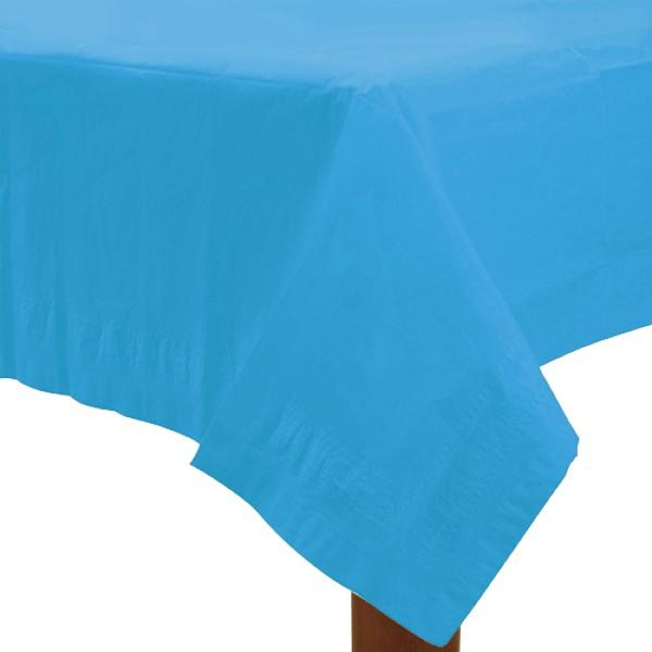Table Cover Pastel Blue Rectangle