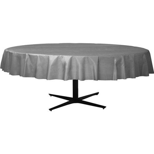 Table Cover Silver Round