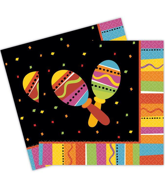 Paper Napkins Mexican Fiesta