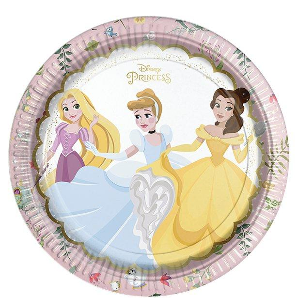 Paper Plates Disney Princess True