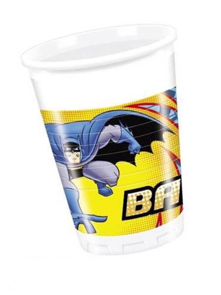 Plastic Cups Batman