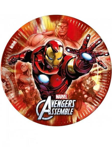 Paper Plates Avengers