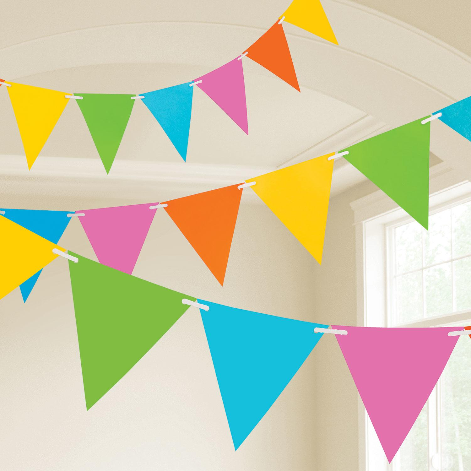 Pennant Bunting Pastel Colours