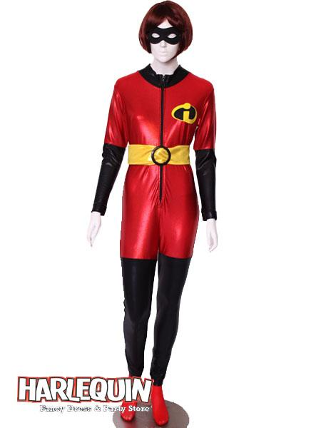 Mrs Incredible Style Hire Costume