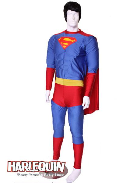 Superman Style Hire Costume