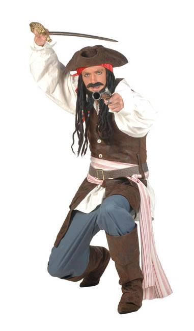 Pirate Man Style  Hire Costume