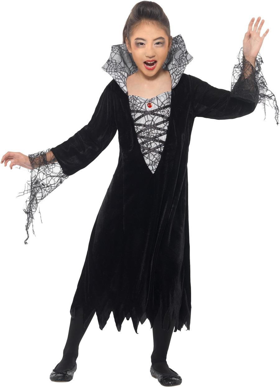 Kids Spider Vampire Costume
