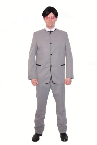 1960s Beatles Grey Hire Costume