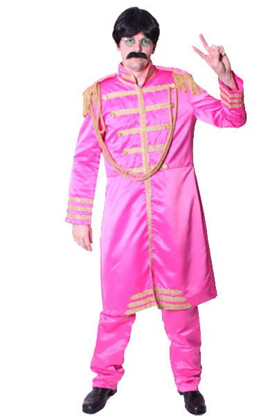 1960s Beatles Pink Hire Costume