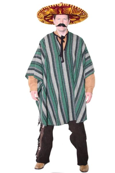 Mexican Green Hire Costume