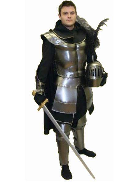 Medieval Knight Hire Costume