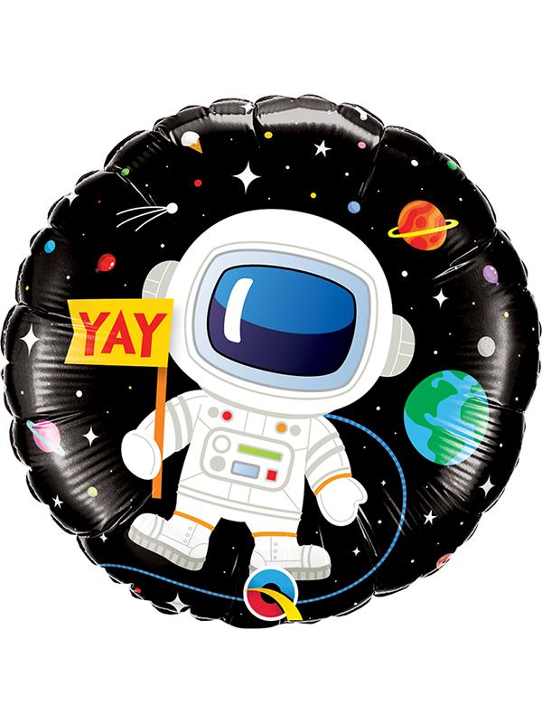 Foil Balloon Birthday Astronaut
