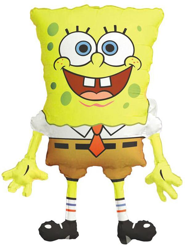 Foil Balloon Spongebob Squarepants Supershape