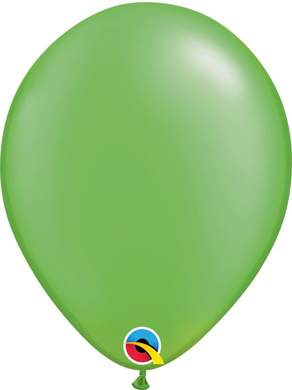 Pearl Latex Balloons Lime Green