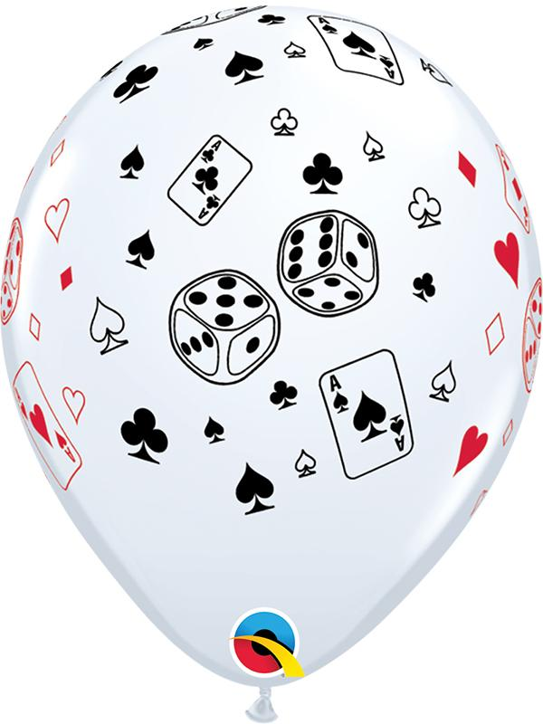Latex Balloons Cards & Dice