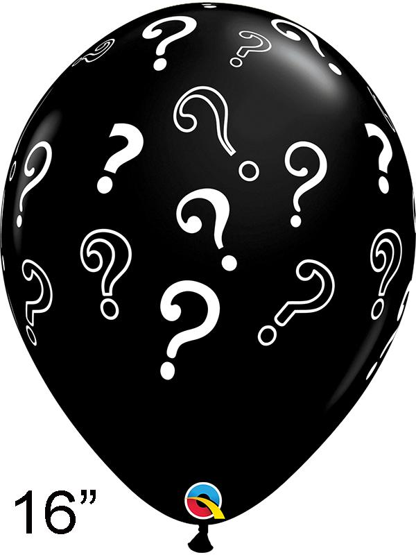 Latex Balloon Question Marks 16 Inch