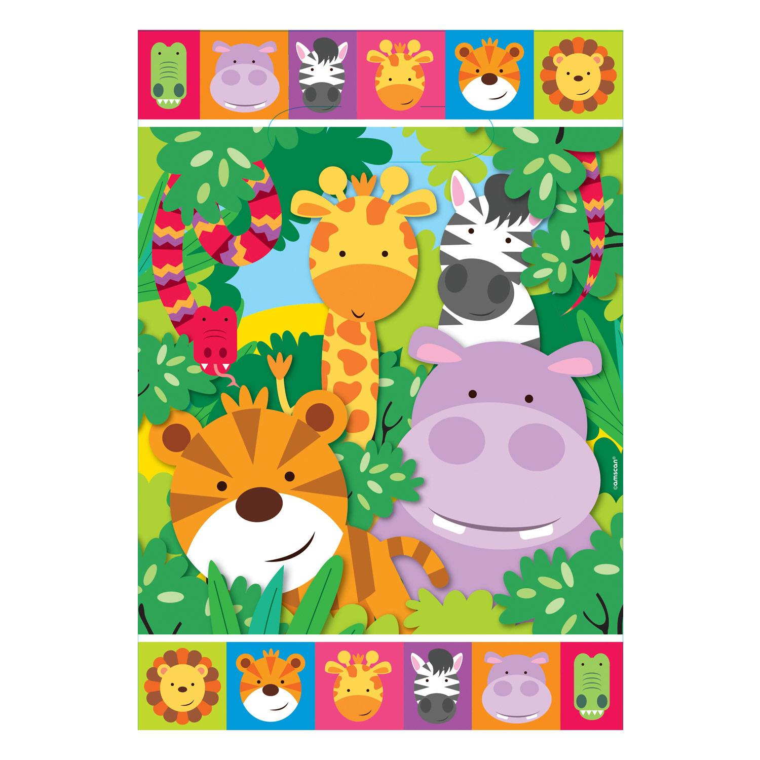 Party Loot Bags Jungle Friends