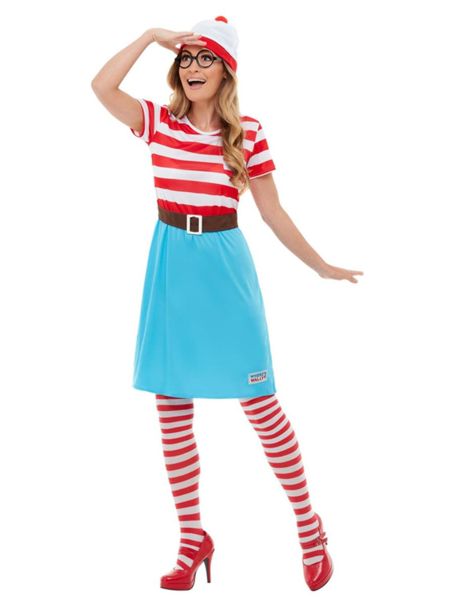 Where's Wally? Wenda Costume Officially licensed Ladies Dress