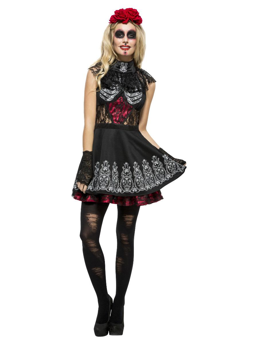 Fever Day of the Dead Dress Costume