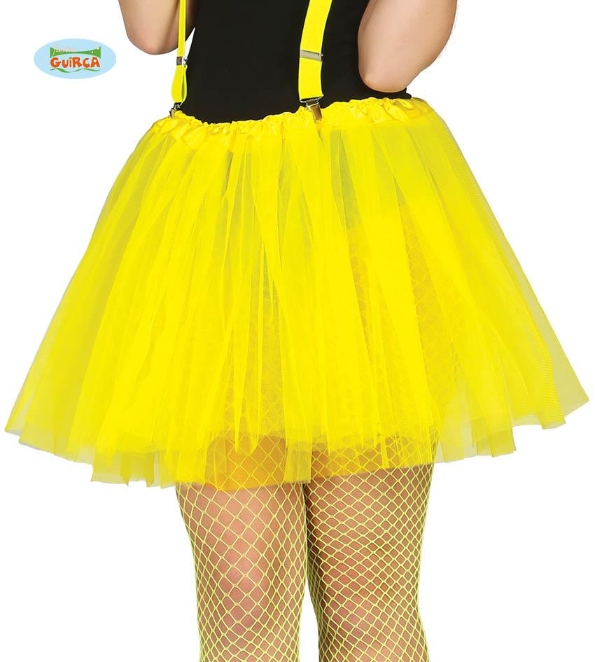 Adult Tutu Neon Yellow 40cm
