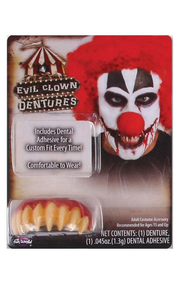 Horror Clown Teeth